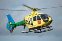 The campaign wants to bring an air ambulance to Aberdeen