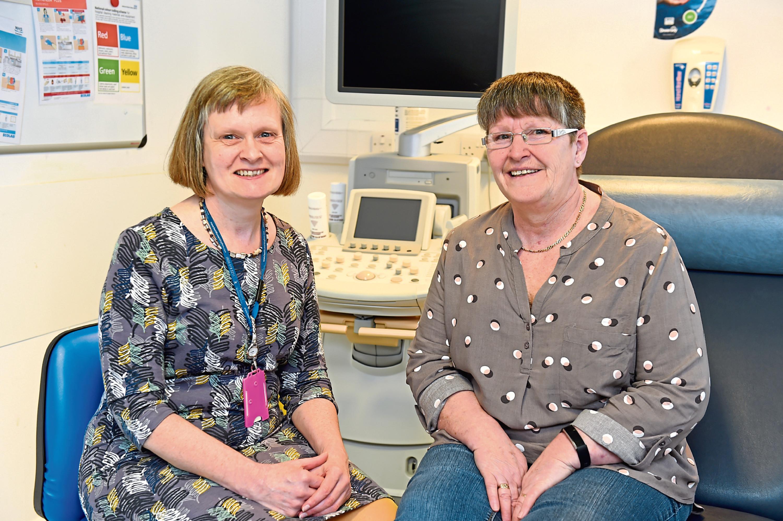 Elizabeth Smyth (consultant surgeon) and Wilma Dawn