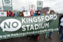 The campaign group No Kingsford Stadium (NKS), which opposed Aberdeen FC's new stadium at Kingsford, has now folded