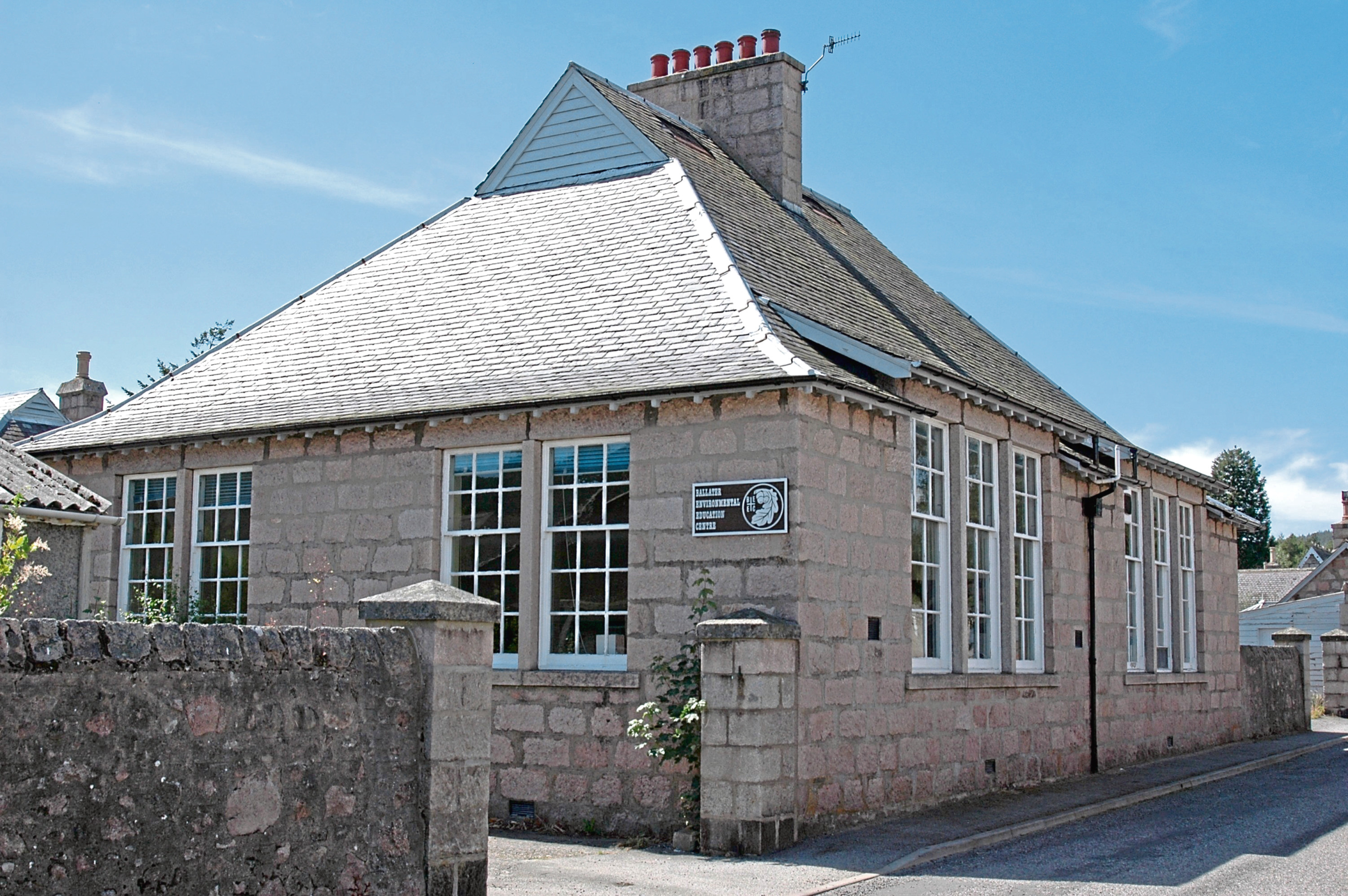 A Ballater group is making a determined effort to turn the old village school into an asset for the local community.