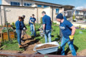 Kellas Midstream has teamed up with Inchgarth Community Centre to support the community garden.