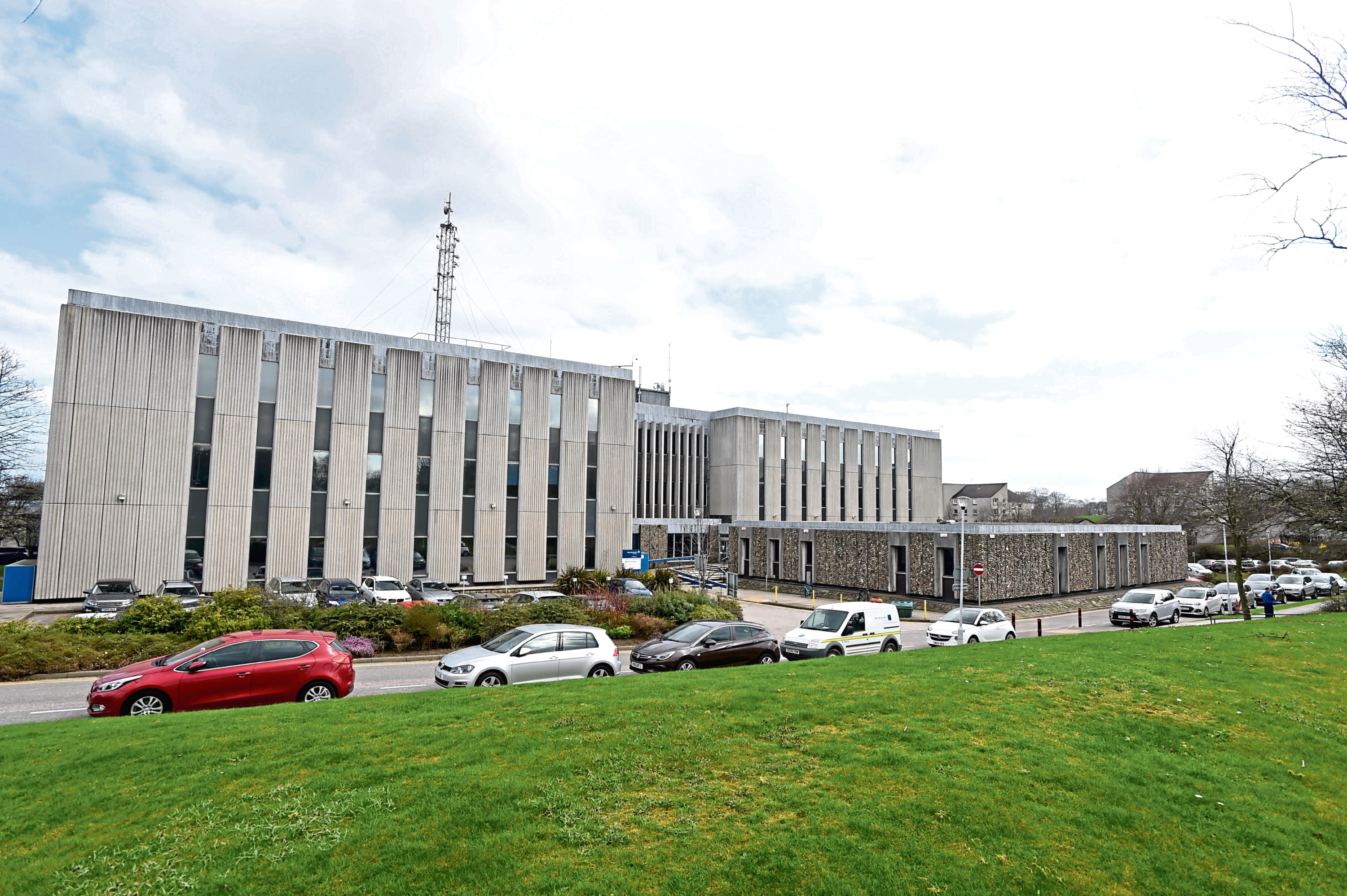 Aberdeenshire Council headquarters at Woodhill House.