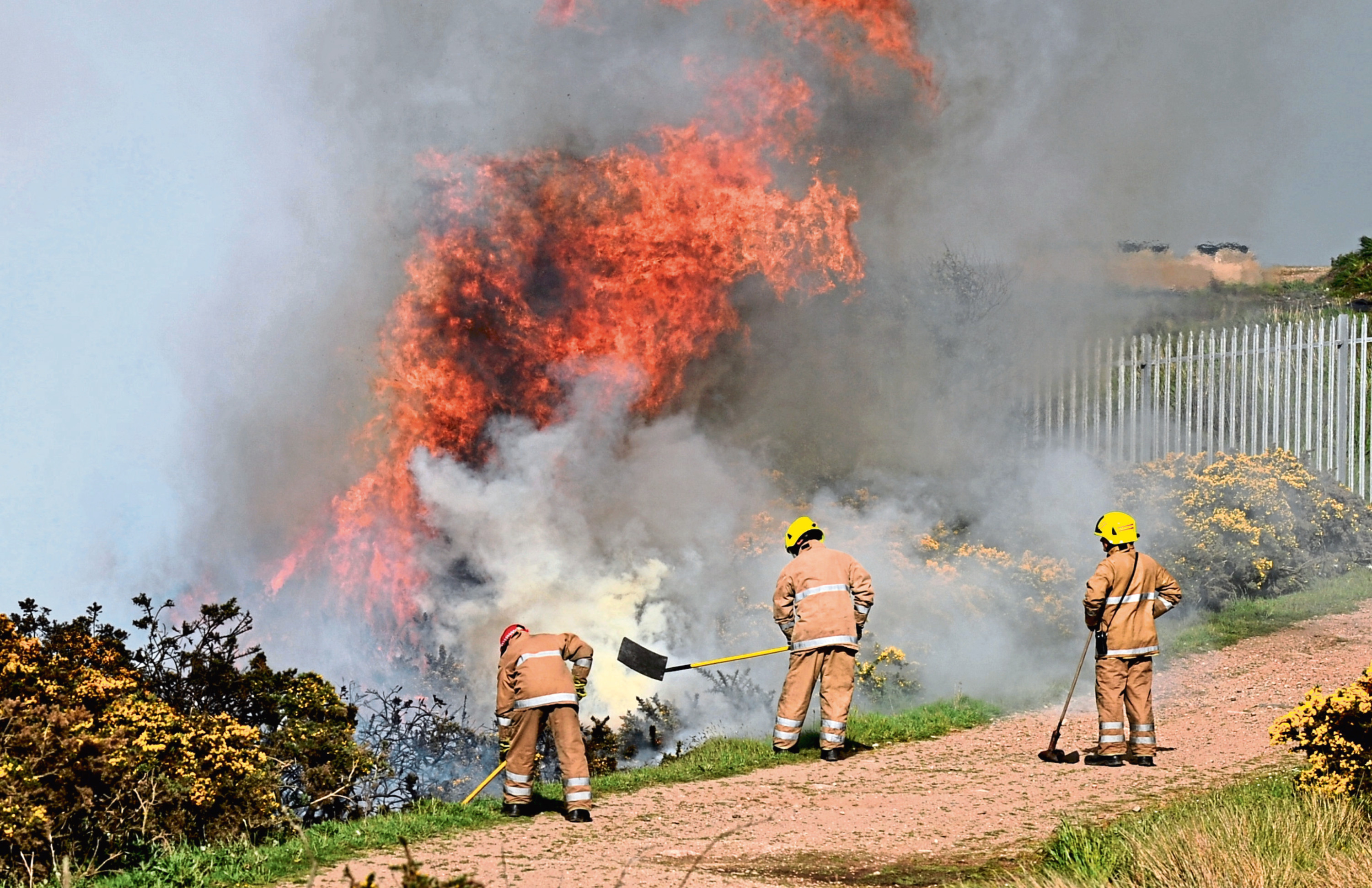 Fire crews have been called to four incidents at the Gramps this year