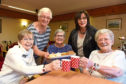 Residents at Janesfield Manor held a bake sale and raffle and raised more than £800 for the Aberdeen Dementia Resource Centre