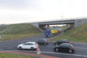Motorists have faced delays at the new Aberdeen bypass junction