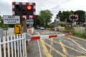 The level crossing at Kintore