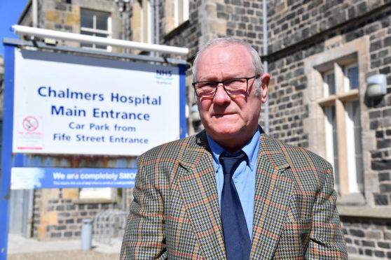 Banff and Macduff Community Safety Group Chairman Richard Menard.