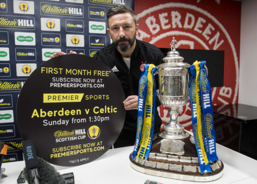 Aberdeen manager Derek McInnes looks forward to his side's William Hill Scottish Cup semi-final which is live on Premier Sports.