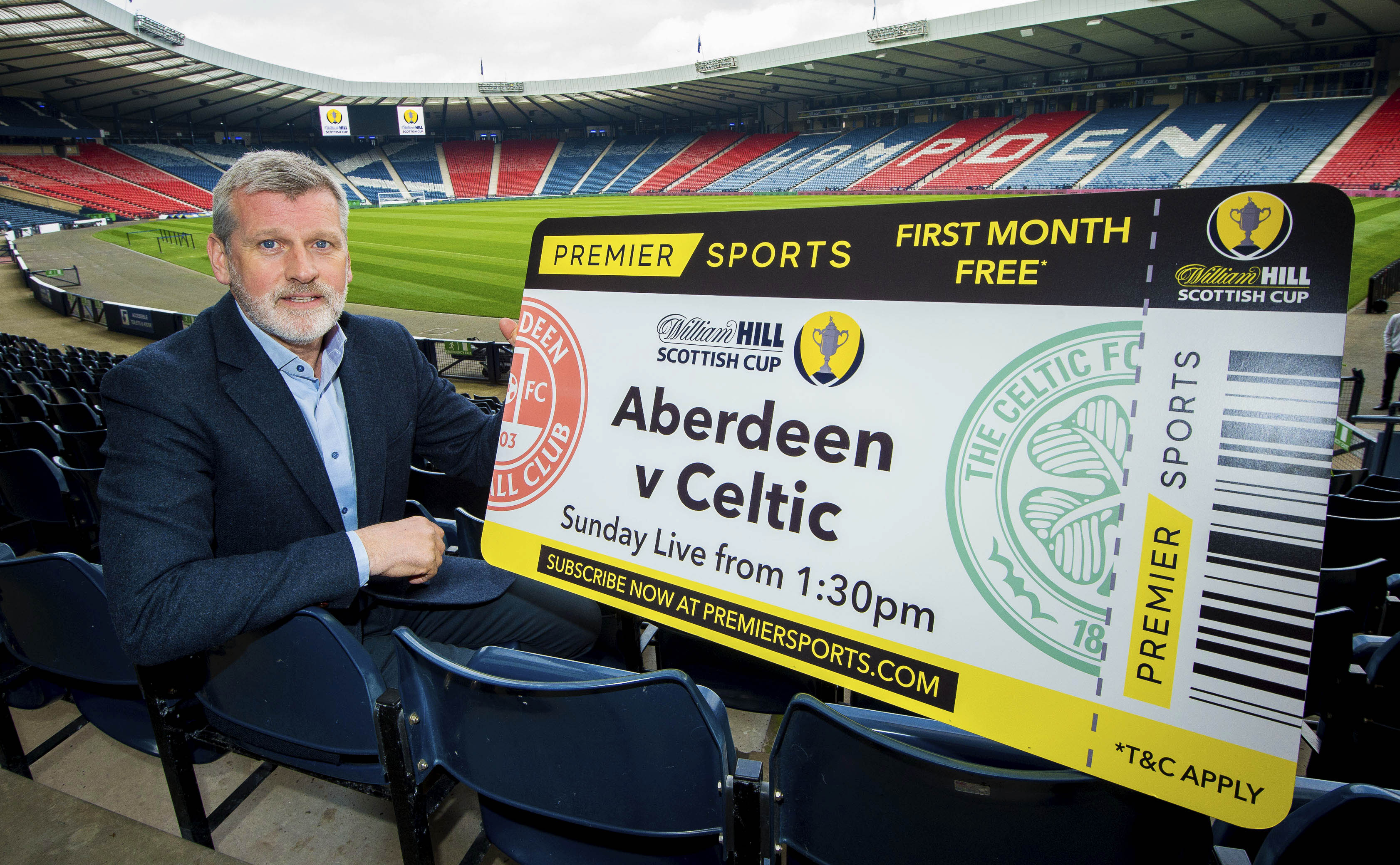 Former Aberdeen star Eric Black was on hand to preview Sunday's Scottish Cup semi-final.
