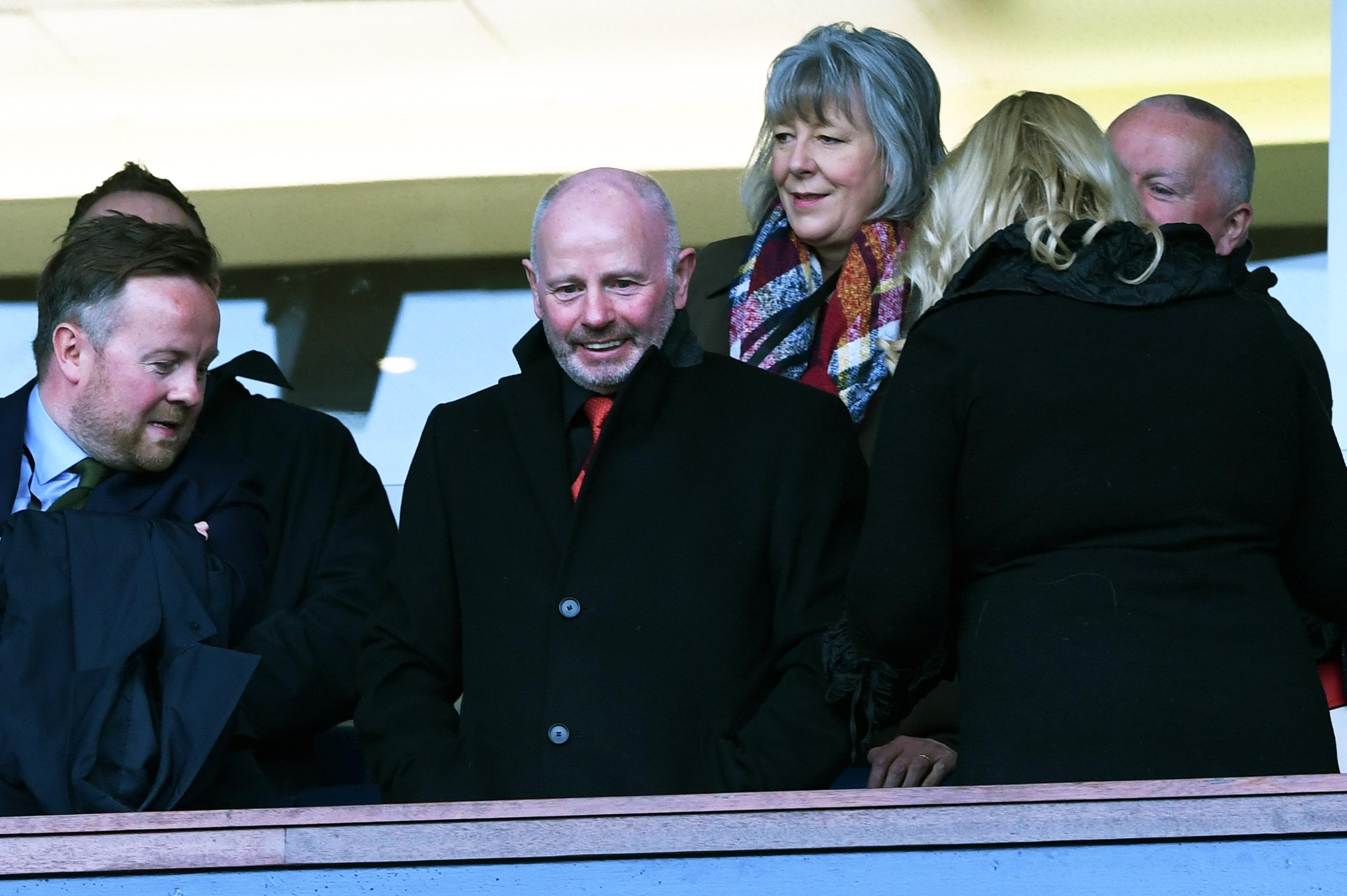 Aberdeen chairman Stewart Milne.