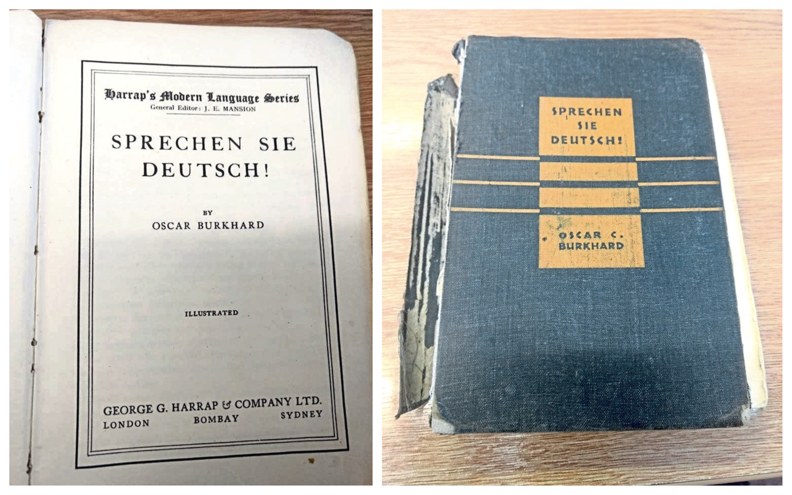 The book was returned after more than seven decades