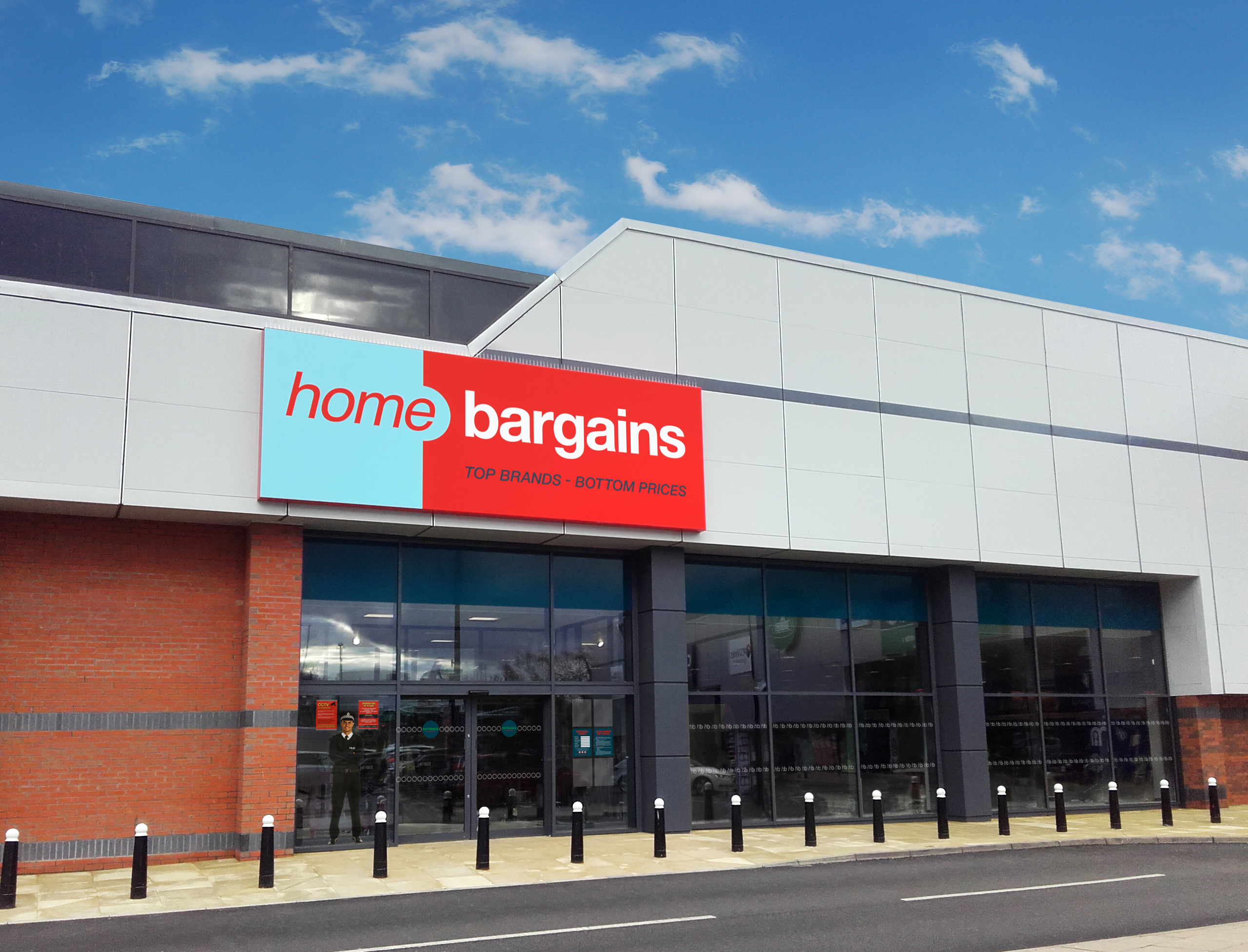 The new Home Bargains at Berryden Retail Park