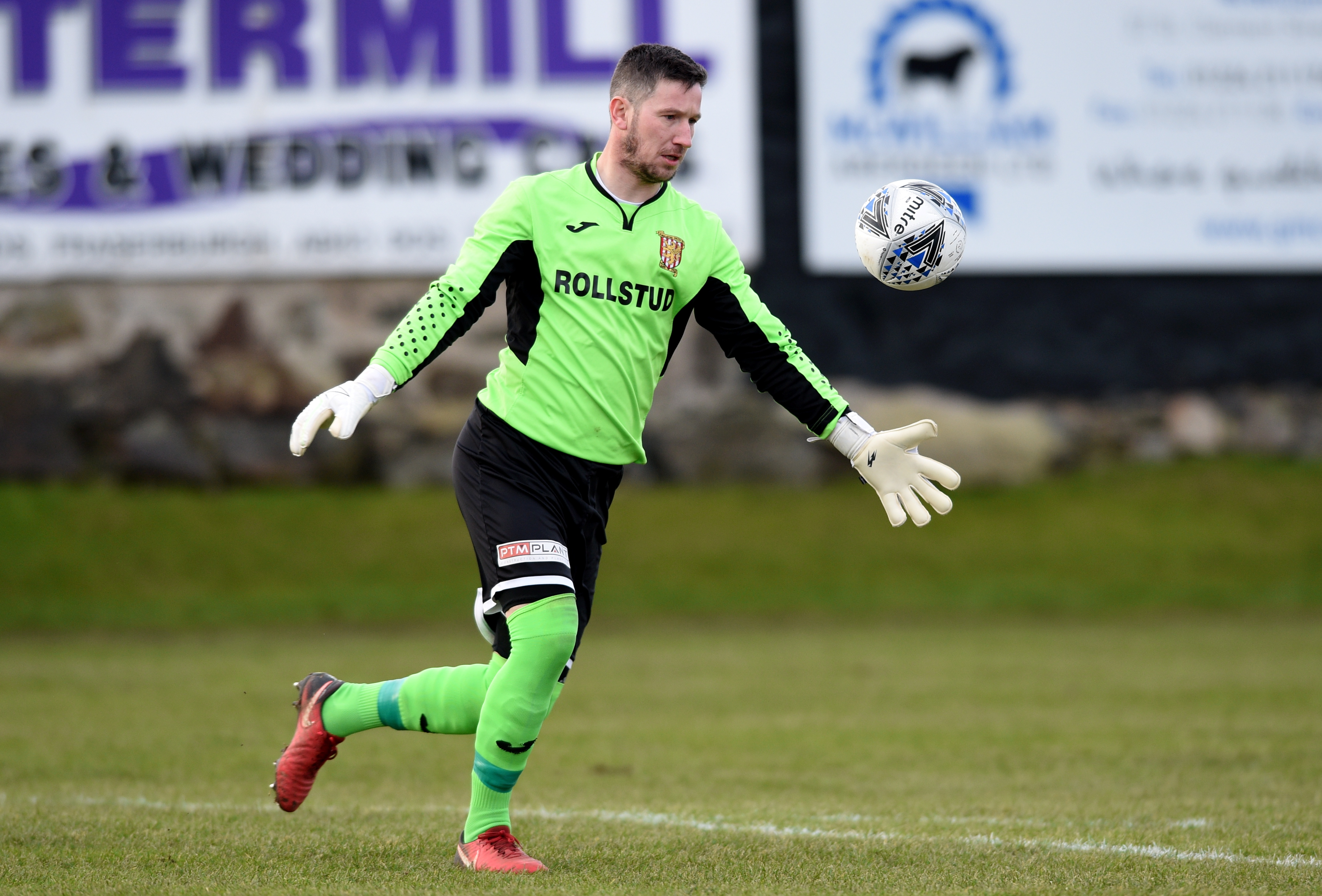 Formartine United goalkeeper Kevin Main Picture by Darrell Benns.