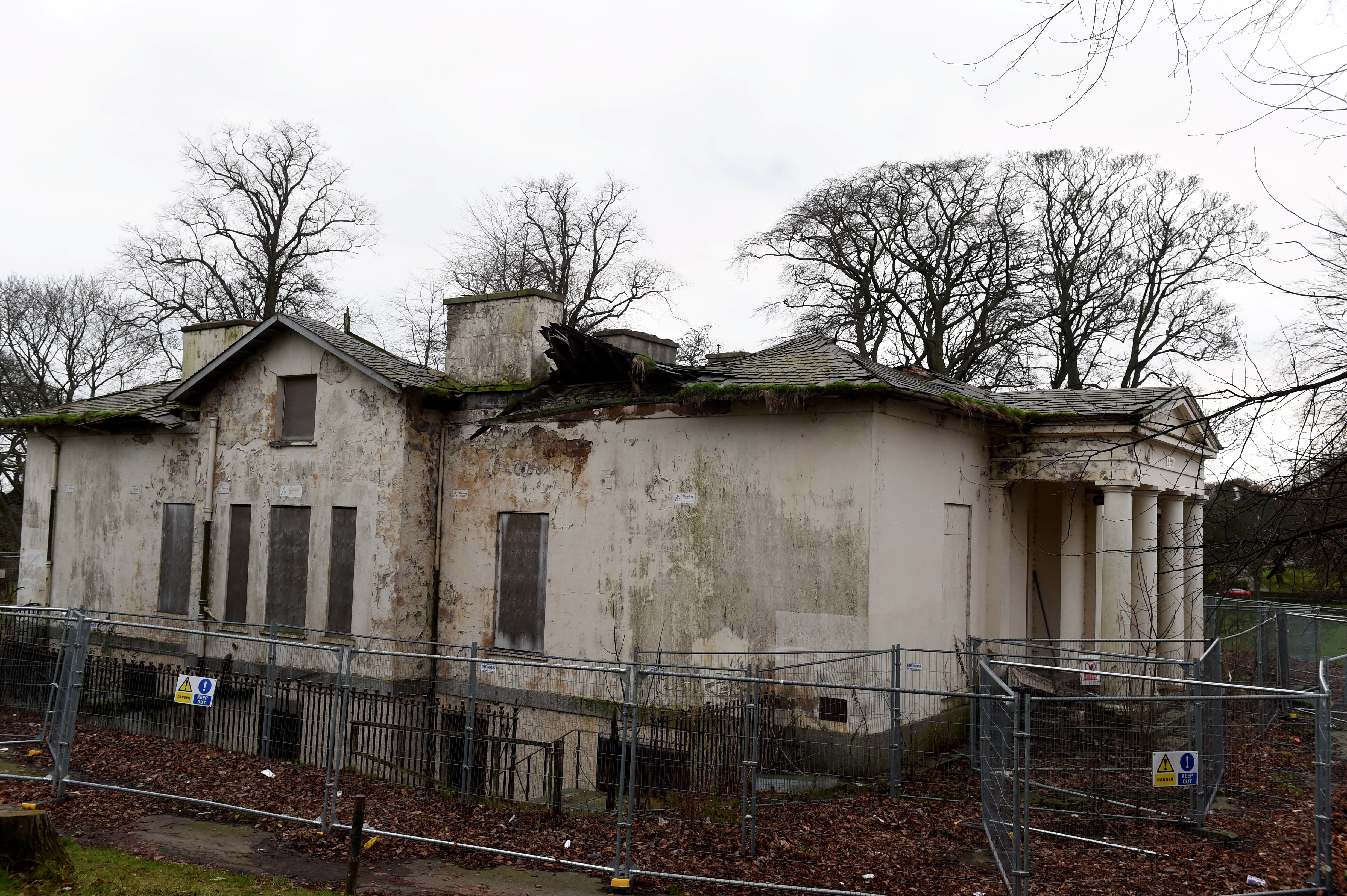 Westburn House has been on the Building's at Risk register for more than a decade