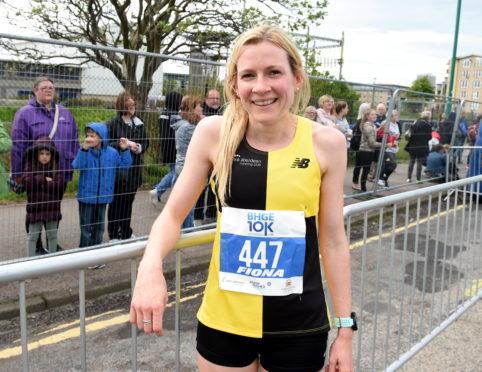 Metro Aberdeen runner Fiona Brian