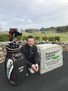Golfer Mark Rae