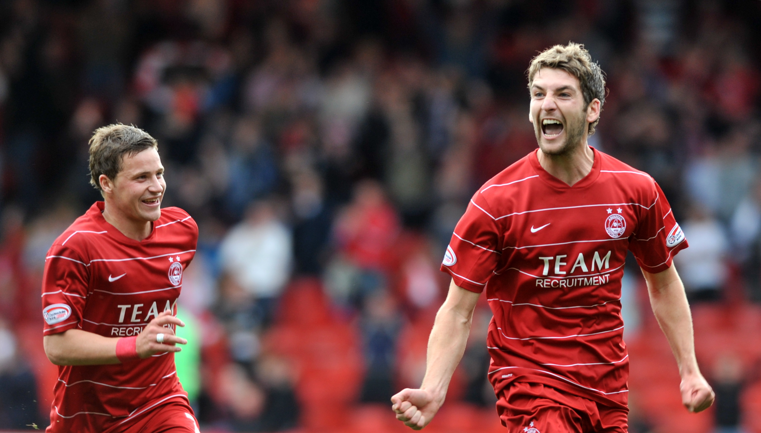 Charlie Mulgrew during his time at Aberdeen.