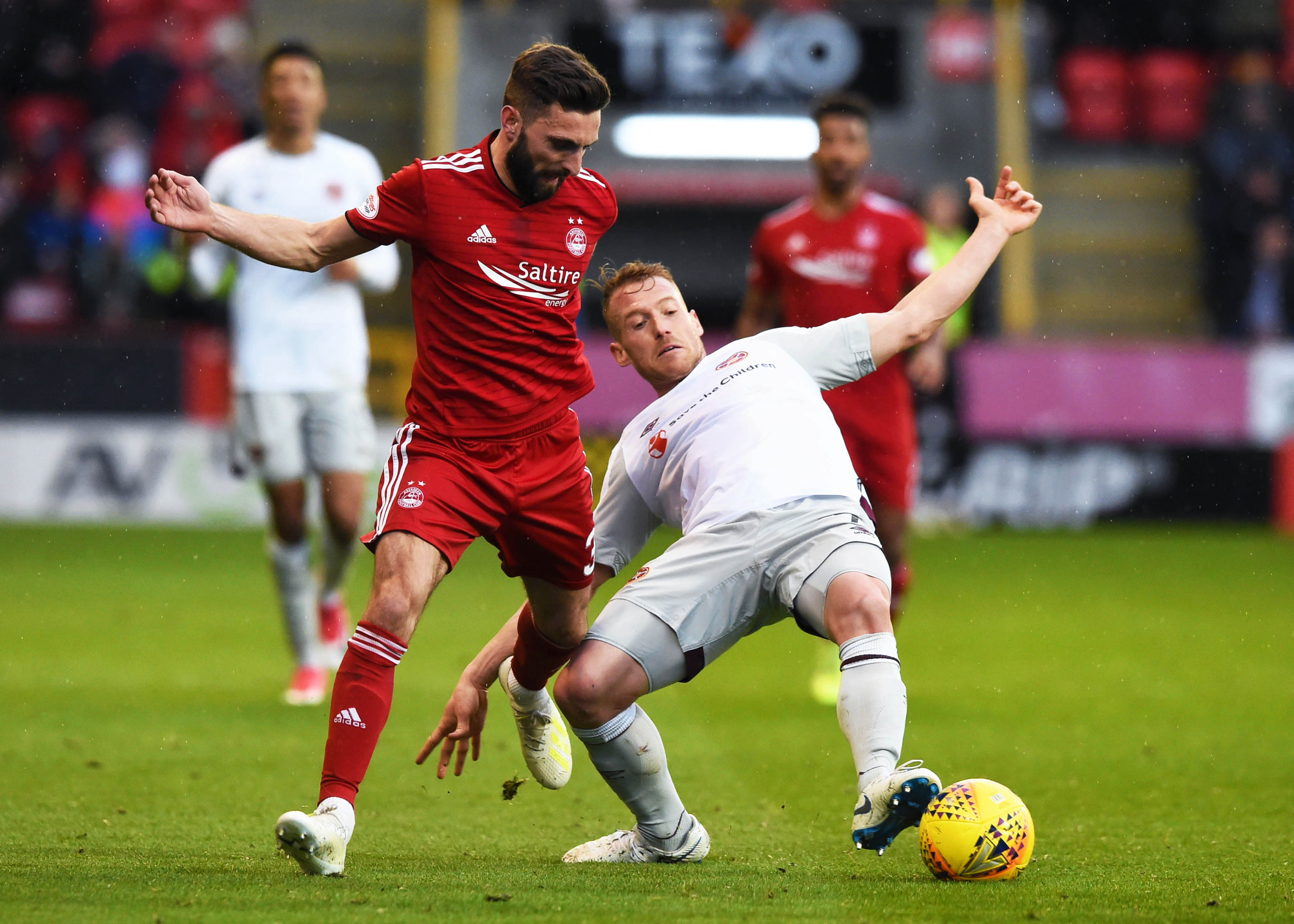 Graeme Shinnie's departure could leave Ferguson as the main man in the Reds' midfield.