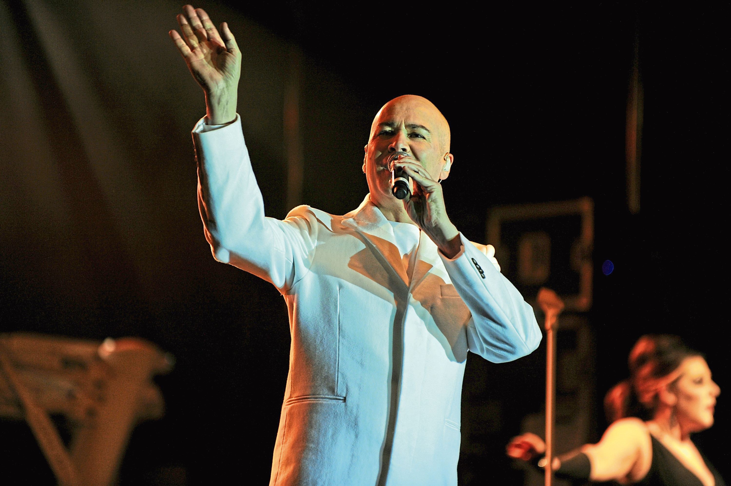The Human League previously performed at a gig in the town