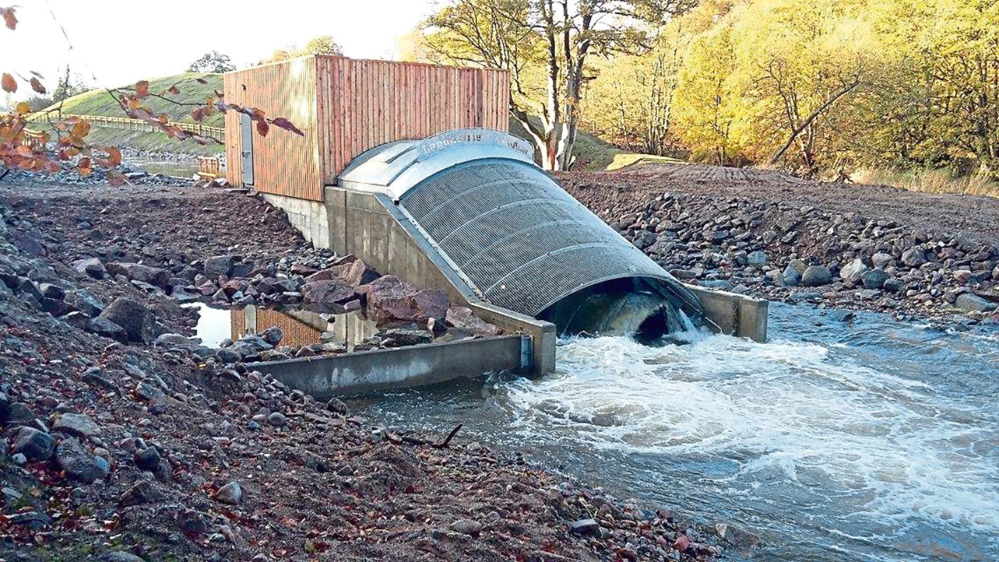 The Donside Hydro scheme in Aberdeen