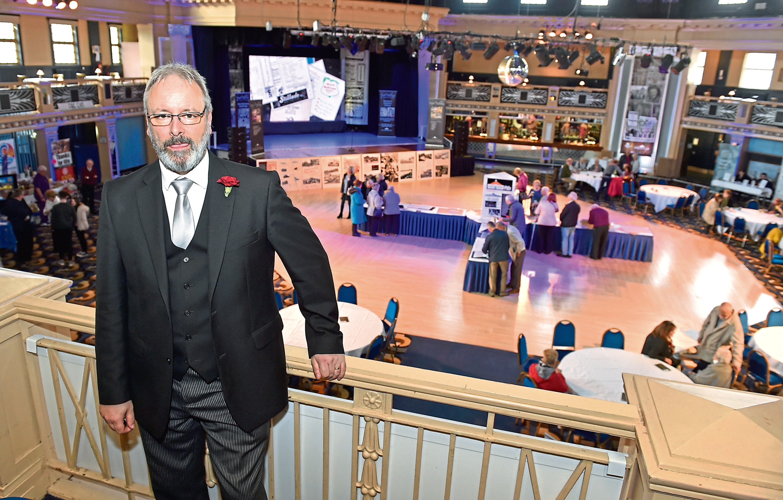 Beach Ballroom manager John Johnstone