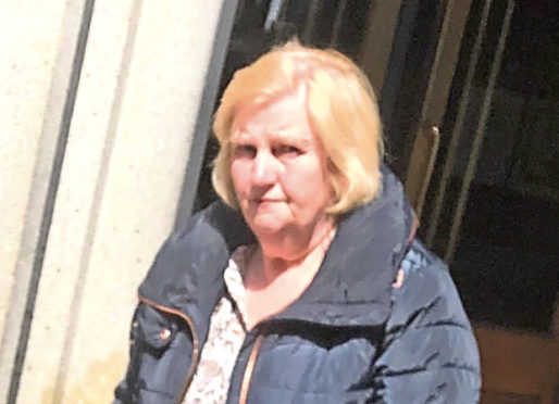 Sandra Angus said she forgot about the items of jewellery she stole