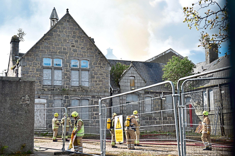Victoria Road School fire