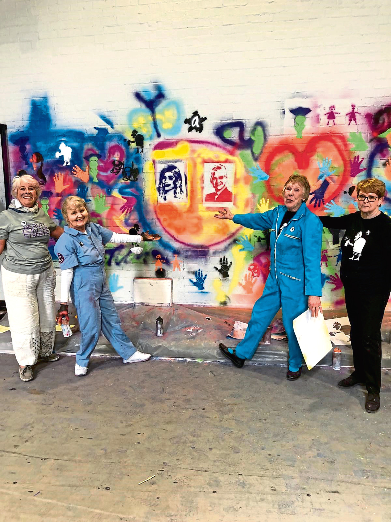 The Graffiti Grannies on This Morning