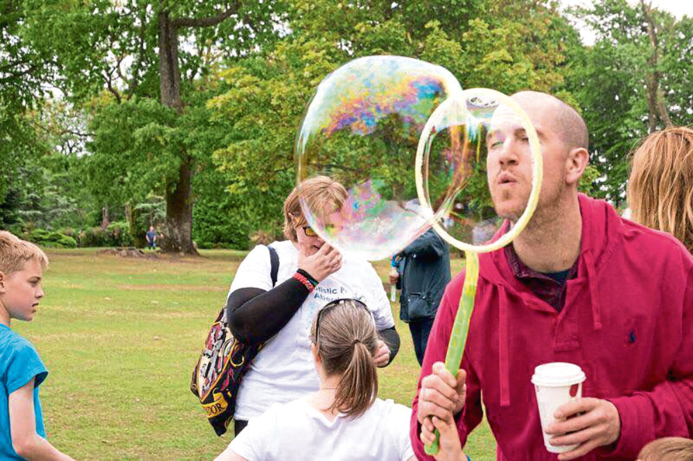 Last year, the event was held at Hazlehead Park, giving autistic people the chance to mingle and celebrate their community