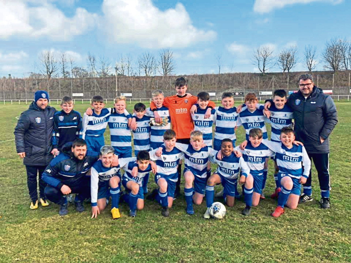 Dyce BC Blues Under-13s.