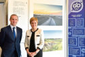 First Minister Nicola Sturgeon with Michael Matheson