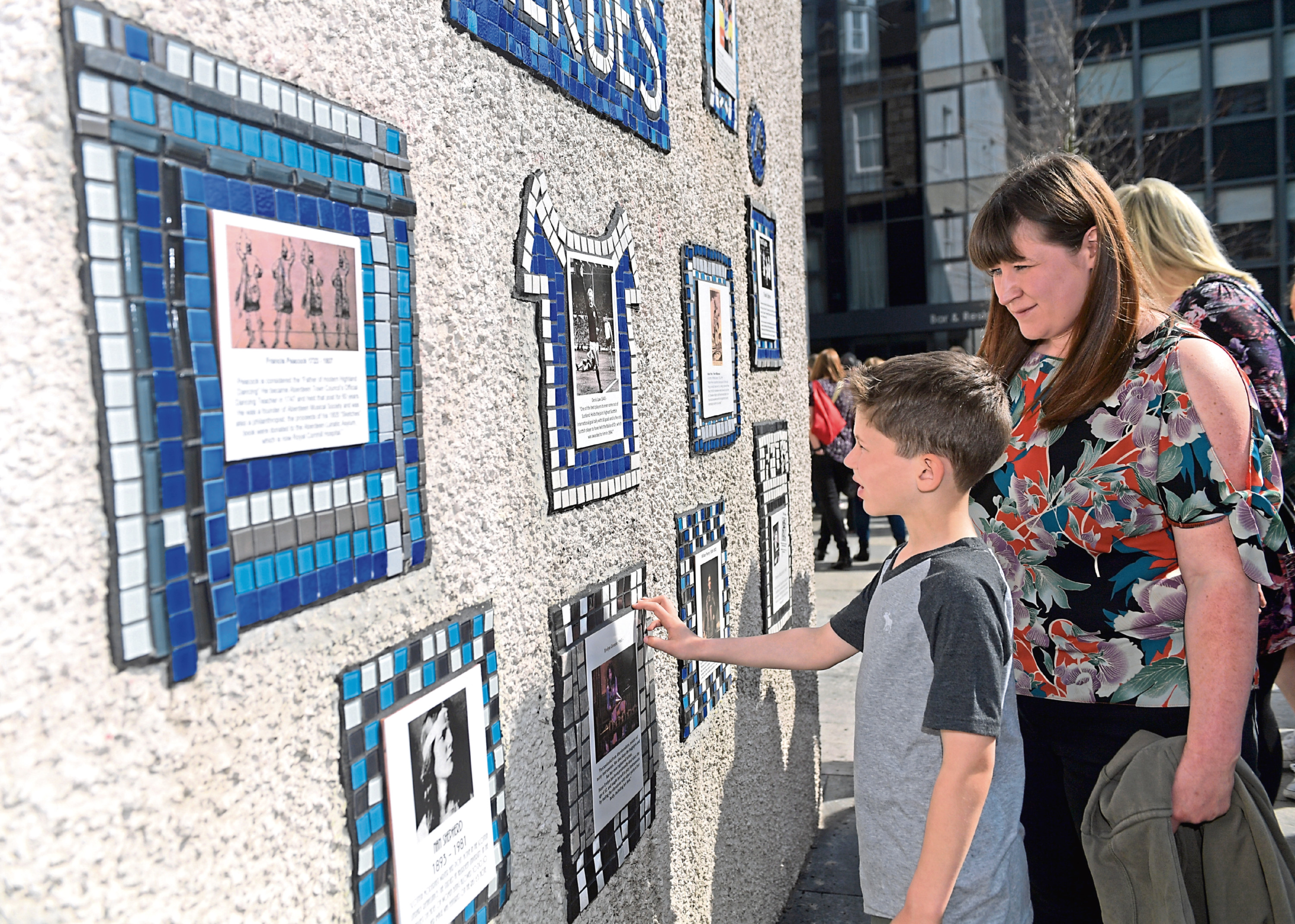 The street installations created by Nuart artists across the city have been attributed to a rise in civic pride