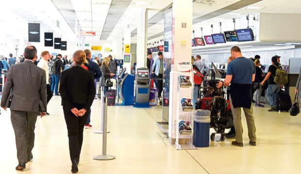 Staff at Aberdeen International Airport will go on strike next month
