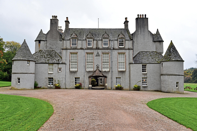 Leith Hall, near Huntly.