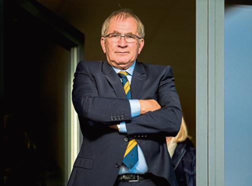 Former Scottish FA President Alan McRae.