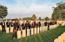 Pupils from Aberdeen Grammar have been visiting battlefields in Belgium