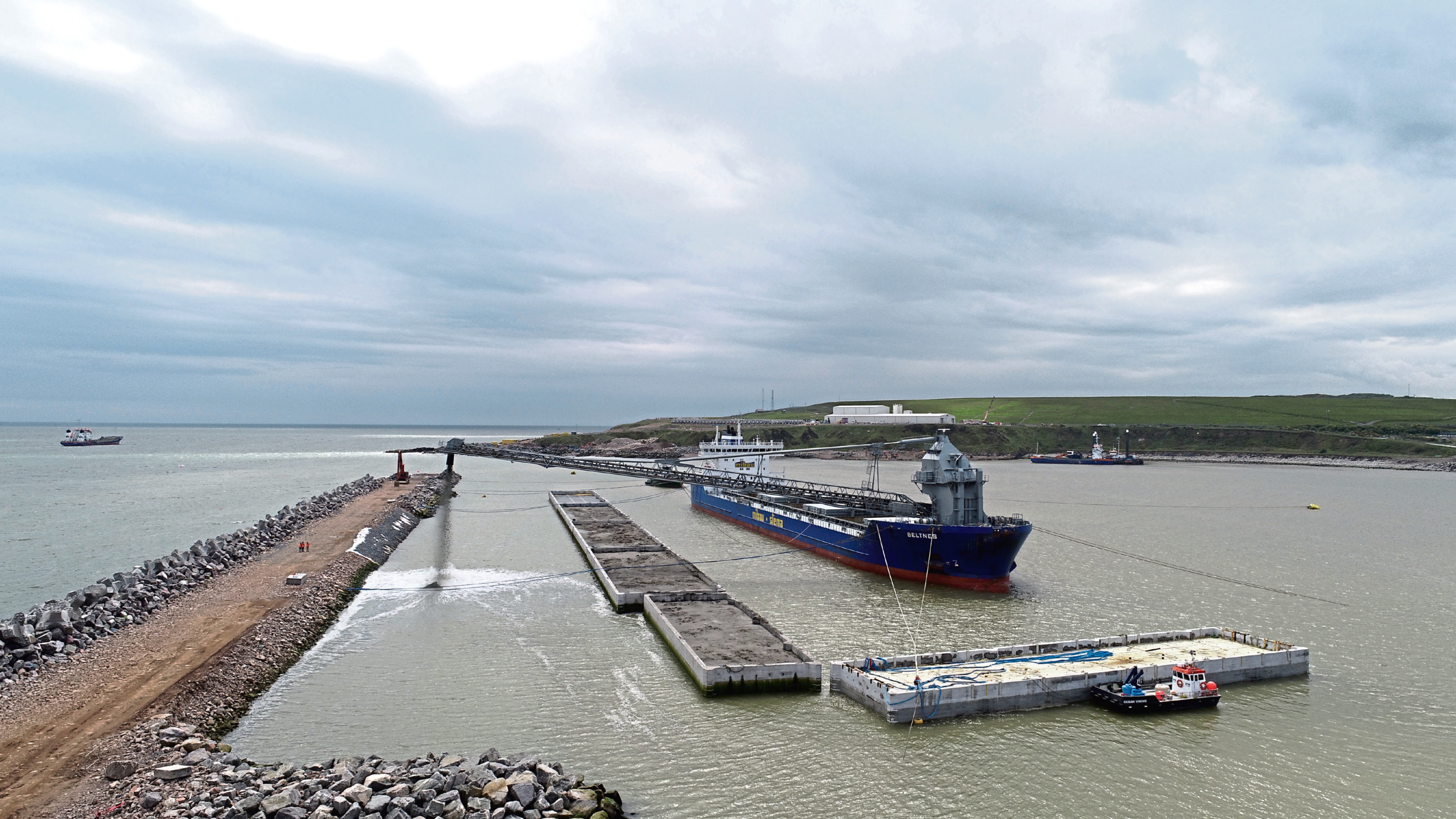 Aberdeen Harbour Board is looking for a new contractor to carry out works on the £350 million expansion.