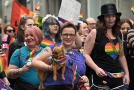 Aberdeen Grampian Pride parade