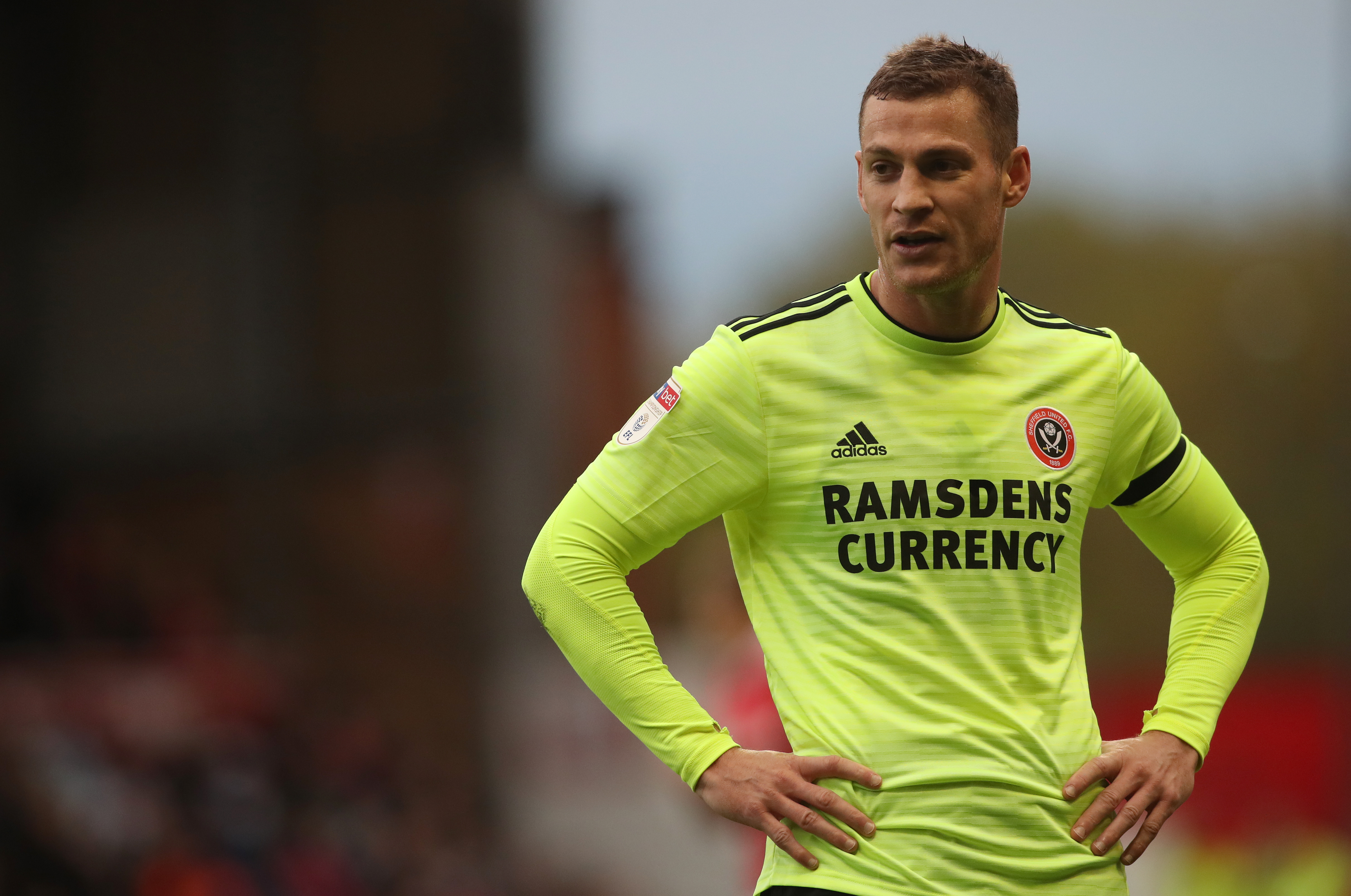Paul Coutts during his time with Sheffield United
