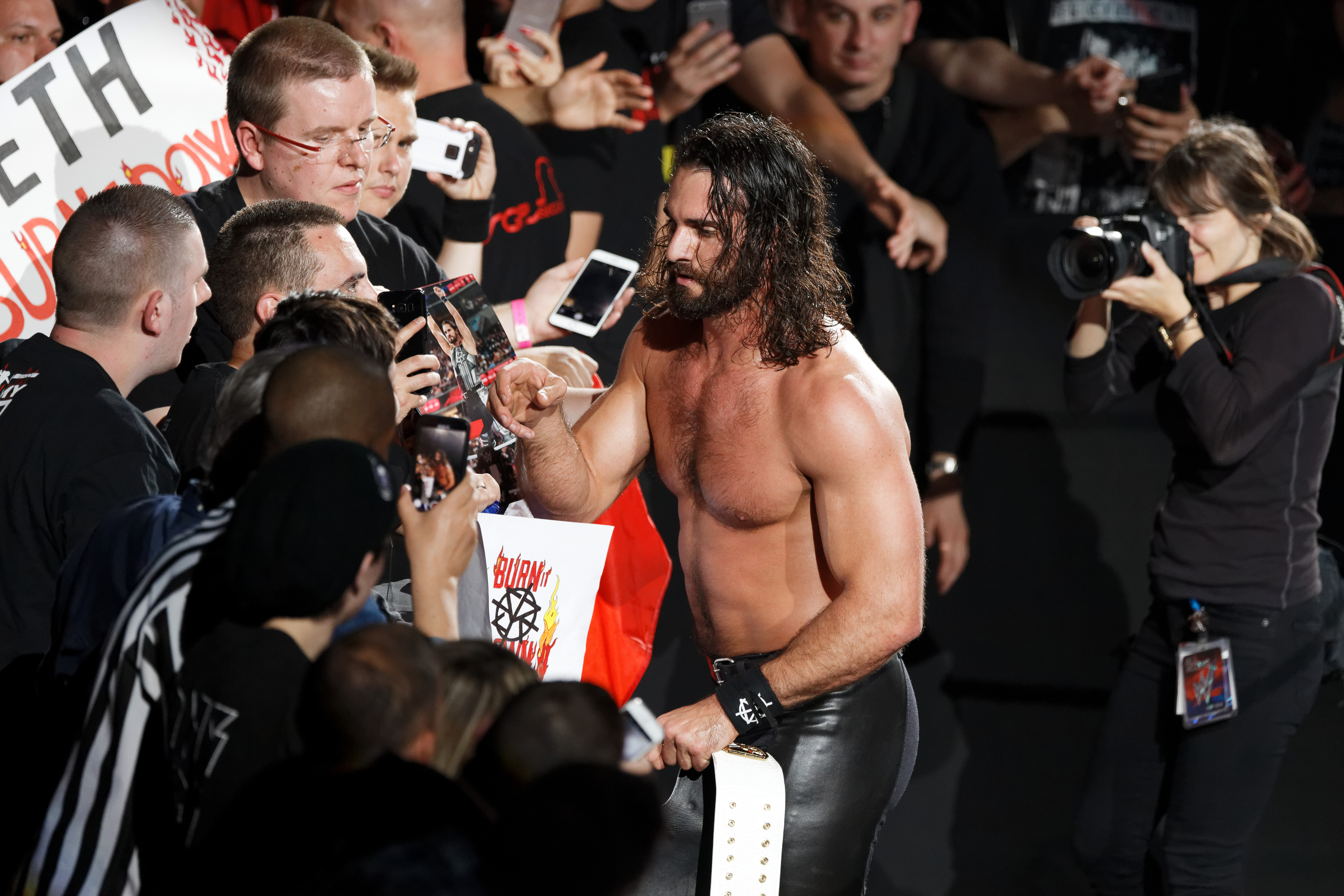 Seth Rollins could feature at the event
