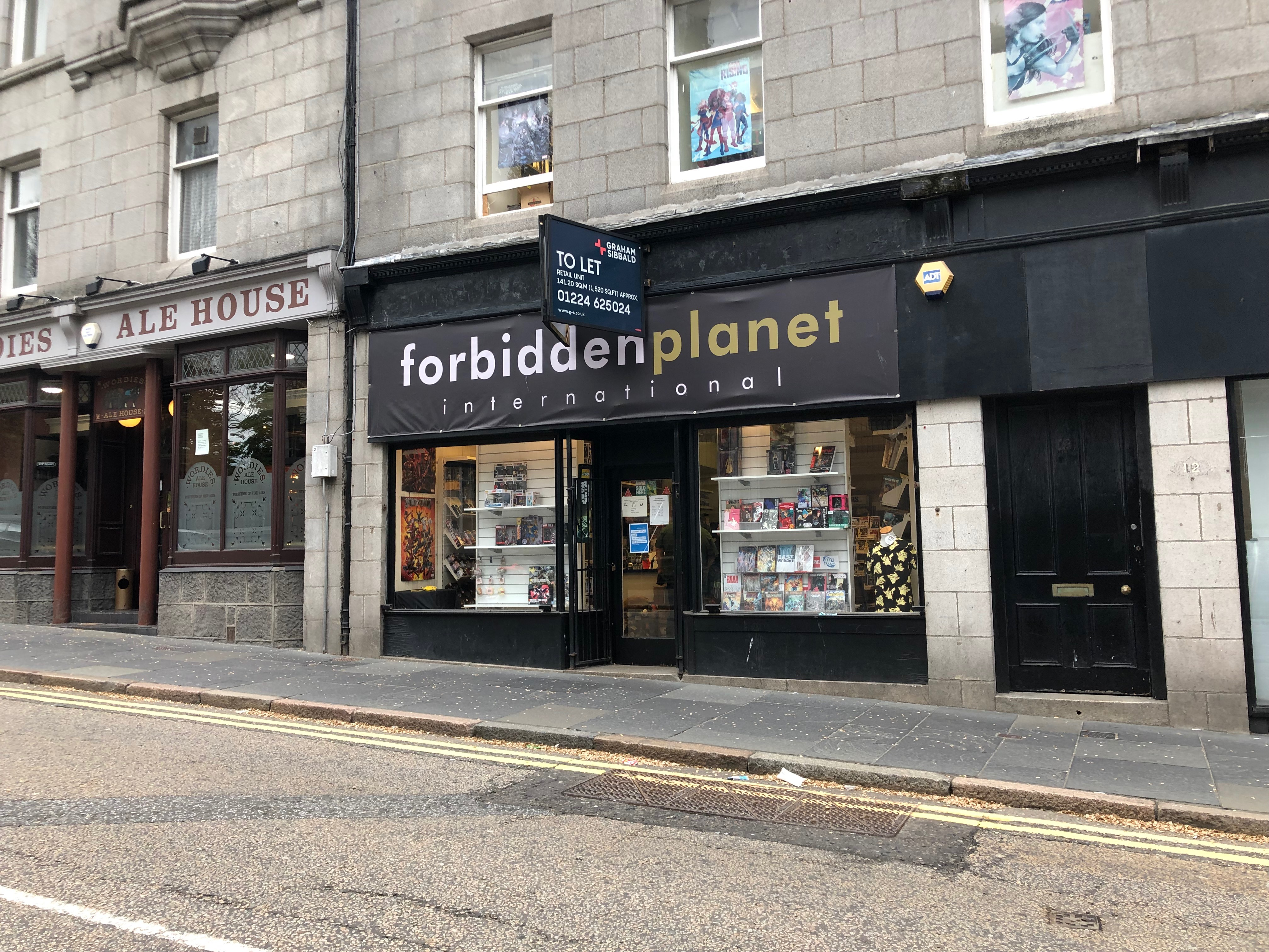 Forbidden Planet has announced it will close its doors for the final time