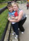 Johanna Gowie, who runs a group for children with additional support needs, with her son Jack