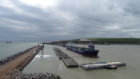 MV Beltnes in South Harbour