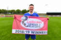 Striker Mitch Megginson has been Cove Rangers' talisman.