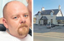 David Sim stole a cash box, cash and blank cheques worth £1,500 from the Newmachar Hotel