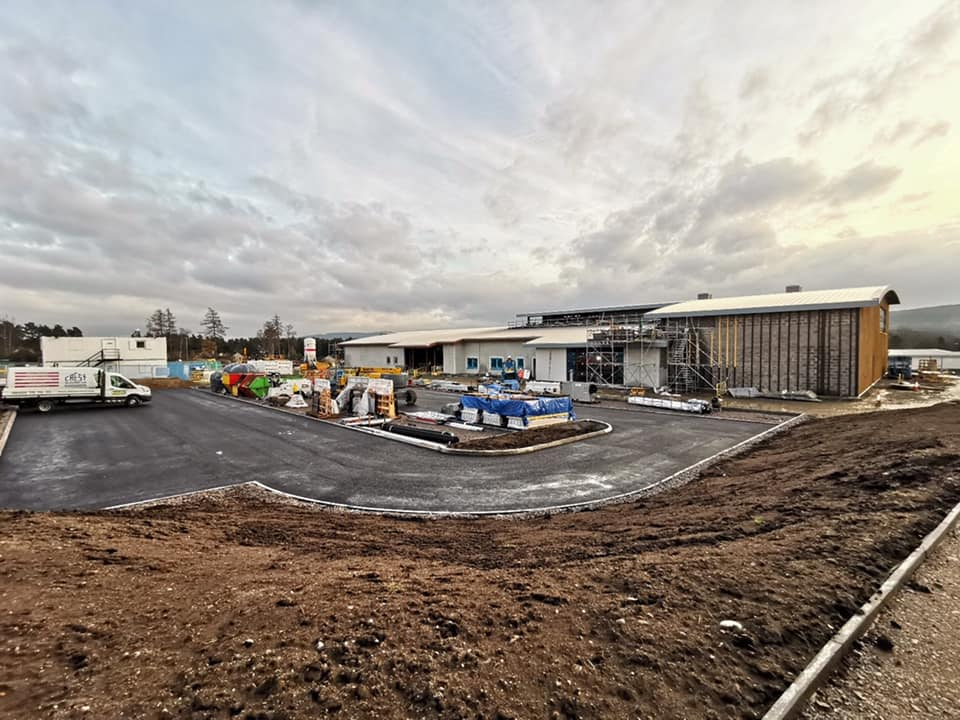 The new facility in Banchory
