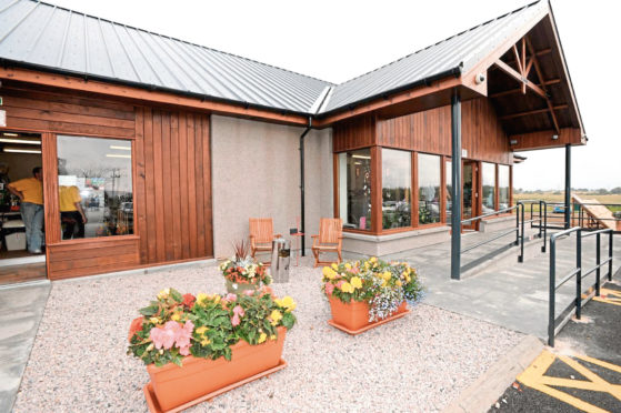 Parkhill Garden Centre has plans for the site of Cordyce School