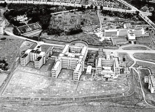 The Foresterhill site as it looked around the time