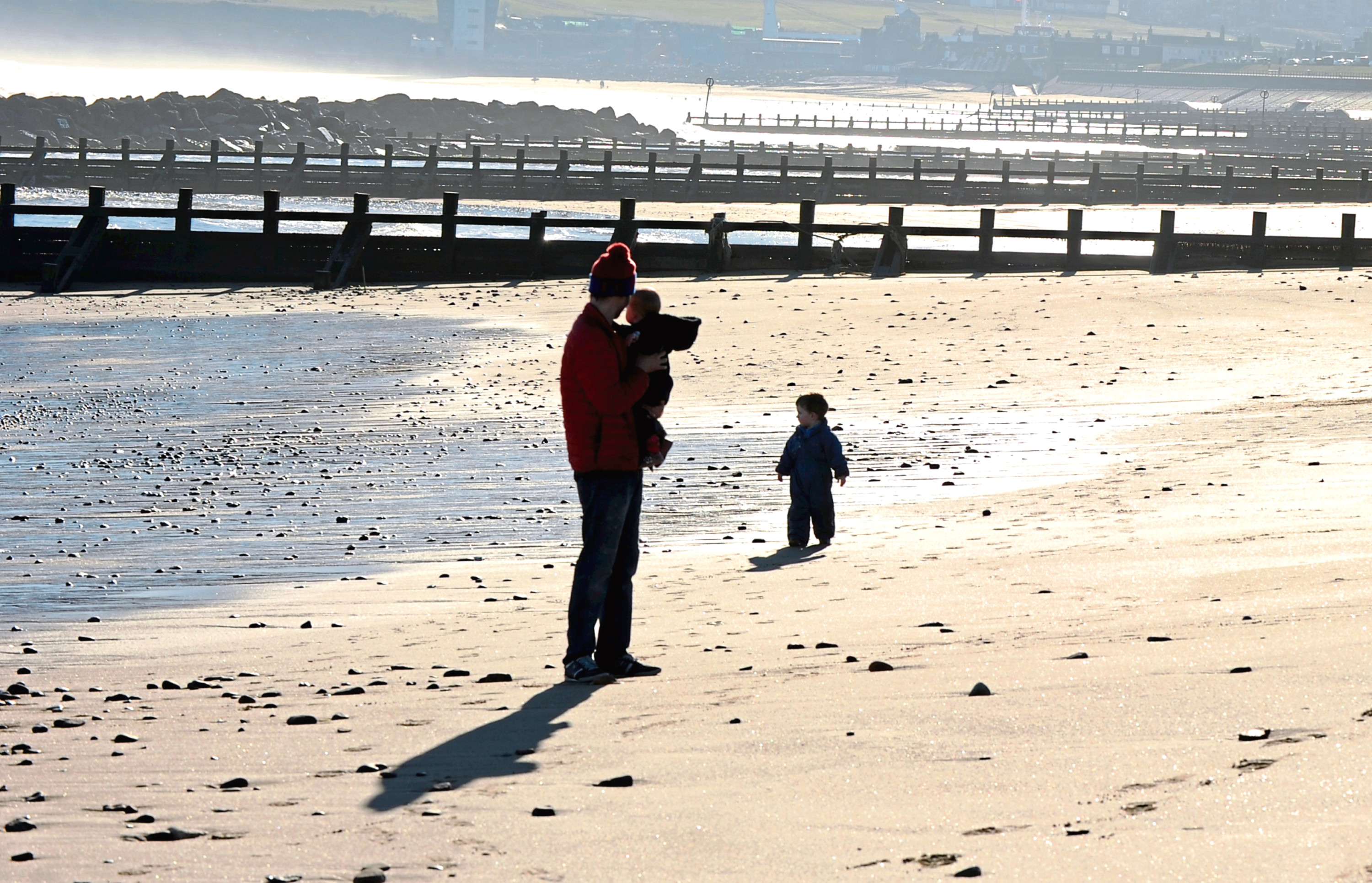 Nine north-east beaches, including Aberdeen, have been graded by the Scottish Environment Protection