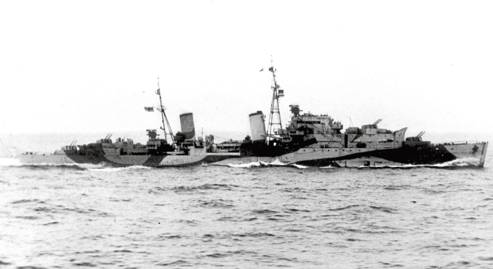 Built using money raised by the sale of war bonds in the Granite City, HMS Scylla was known as Aberdeen's warship and served on Arctic convoy duty as well as playing a vital D-Day role